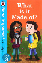 Купити - Книжки - What is it Made of? Read It Yourself with Ladybird. Level 3