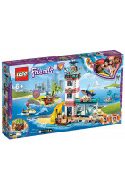 Конструктор LEGO Friends Рятувальний центр на маяку 602 деталі (41380)