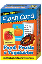 Купити - Книжки - More Than Flash Cards Food, Fruits and Vegetables