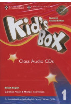 Купить - Аудиокниги - Kid's Box Level 1 Class Audio CDs (4) British English