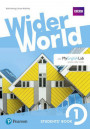 Купить - Wider World 1 (A1) Student's eBook (Internet Access Card) with MyEnglishLab & Extra Online Homework