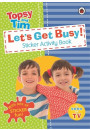 Купити - Let's Get Busy! A Ladybird Topsy and Tim sticker activity book