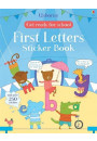 Купить - Get Ready for School. First Letters Sticker Book