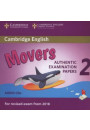 Купити - Cambridge English Young Learners 2 for Revised Exam from 2018 Movers Audio CDs: Authentic Examination Papers