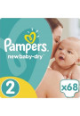 Купити - Підгузки Pampers New Baby-Dry Розмір 2 Mini 3-6 кг 68 шт (4015400735571)