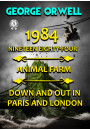 Купити - 1984. Nineteen Eighty-Four. Animal farm. Down and Out In Paris and London. Illustrated