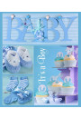 Купить - Фотоальбом EVG Baby collage Blue (20sheet Baby collage Blue w/box)