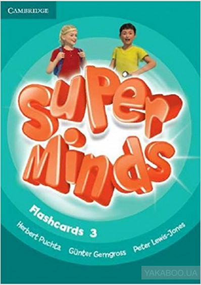 Фото - Super Minds 3 Flashcards (Pack of 83)