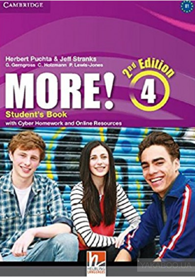 Фото - More! Level 4 Student's Book with Cyber Homework and Online Resources