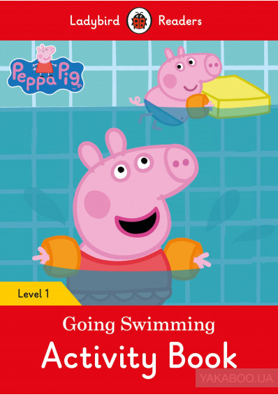 Peppa Pig Going Swimming Activity Book Level 1
