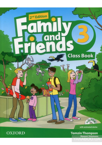 Фото - Family and Friends 2nd Edition 3. Class Book (+ CD-ROM)