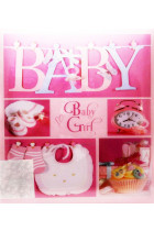 Купити - Блокноти - Фотоальбом EVG Baby Girl Collage рожевий (20sheet Baby collage Pink w/box)