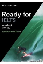 Купити - Книжки - Ready for IELTS: Workbook with Key (+ 2 CD-ROM)