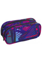Купити - Все для школи - Пенал CoolPack Clever Crazy Pink Abstract (87674CP)