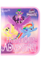 Купити - Все для школи - Папка на блискавці Kite My little Pony В5 (34760)