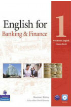 Купити - Книжки - Vocational English: English for Banking & Finance 1 Coursebook with CD-ROM