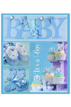 Купити - Блокноти - Фотоальбом EVG 10x15x56 Baby collage Blue (BKM4656 Baby collage Blue UA)