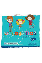 Купити - Книжки - Les Loustics 2. CD audio classe (x3)