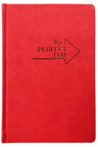 Купити - Блокноти - Мотивуючий планер LifeFLUX Planner My perfect day Червоний (LFPLRLRE014)