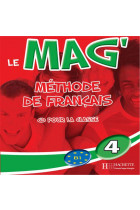Купити - Книжки - Le Mag': Niveau 4 CD Audio Classe (X2)