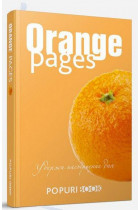 Купити - Блокноти - Orange pages. Блокнот