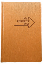 Купити - Блокноти - Мотивуючий планер LifeFLUX Planner My perfect day Золотий (LFPLULGO014)