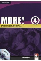 Купити - Книжки - More! Level 4. Workbook (+ CD-ROM)