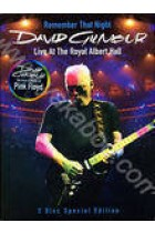 Купити - Музика - David Gilmour: Remember That Night. Live at the Royal Albert Hall (2 DVD)