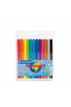 Купити - Все для школи - Фломастери Centropen Colour World 12 кольорів (7550/12 ТП)