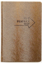 Купити - Блокноти - Блокнот LifeFLUX Notebook Active My perfect day Золотий (LFNBELGO013)