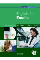 Купити - Книжки - Oxford English for Emails. Student's Book (+ CD-ROM)