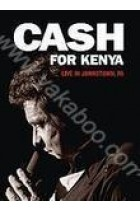 Купити - Музика - Johnny Cash: Cash for Kenia. Live in Johnstown, PA (DVD)