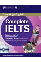 Купити - Книжки - Complete IELTS Bands 6.5-7.5 Student's Book without Answers with CD-ROM