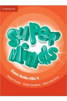 Купити - Книжки - Super Minds Level 4. Class Audio CDs