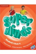 Super Minds. Level 4. Student's Book (+DVD)