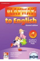 Купити - Книжки - Playway to English Level 4 Teacher's Resource Pack with Audio CD