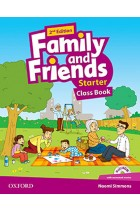 Купити - Книжки - Family and Friends 2nd Edition Starter Class Book (+ Multi-ROM)