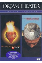 Купити - Музика - Dream Theater: Double Feature - Images And Words, Live In Tokyo / 5 Years In A LIVEtime (2 DVD) (Import)