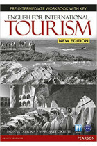 Купити - Книжки - English for International Tourism (New Edition) Pre-Intermediate Workbook with Key & Audio CD