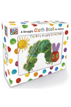 Купити - Книжки - The Very Hungry Caterpillar. Cloth Book