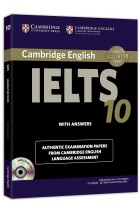 Купити - Книжки - Cambridge IELTS 10 Student's Book with Answers with Audio