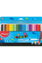 Купити - Все для школи - Фломастери Maped Color Peps Ocean 24 кольори (MP.845722)