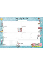 Купити - Блокноти - Тижневик LifeFLUX Weekly planner My perfect day Мотивуючий (LFWEUPTU005)