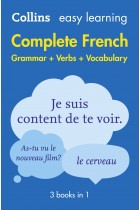 Купити - Книжки - Collins Easy Learning. Complete French. Grammar Verbs Vocabulary. 3 Books in 1. 2nd Edition