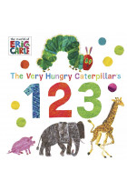 Купити - Книжки - The Very Hungry Caterpillar's 123