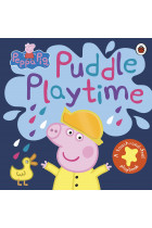 Купити - Книжки - Peppa Pig. Puddle Playtime. A Touch-and-Feel Playbook