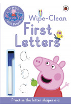 Купити - Книжки - Practise with Peppa: Wipe-Clean First Letters