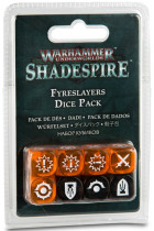 Купити - Настільні ігри - Набір кубиків Games Workshop Warhammer Underworlds: Shadespire - Fyreslayers Dice Pack (99220705001)