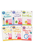 Купити - Книжки - Peppa Pig. Wipe Clean Collection (6-book pack)