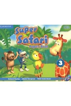 Купити - Книжки - Super Safari 3. Pupils Book (+ DVD, stickers)